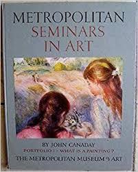 What Is A Metropolitan Metropolitan Seminars In Art Portfolio 1 What Is A