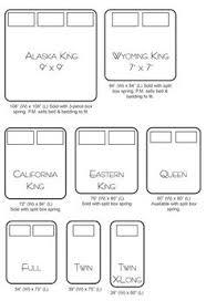 king mattress sizes. Contemporary Mattress Bed Sizing Chart And King Mattress Sizes S