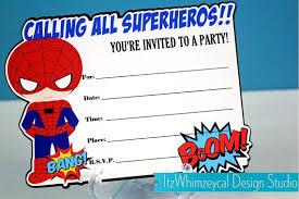 Spiderman Birthday Invitation Templates Free Spiderman Blank Birthday Invitation Free Invitation