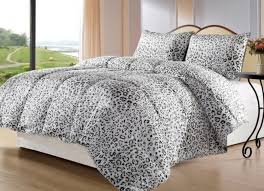 snow leopard animal print comforter bedding set gray top leopard print bedding reviews