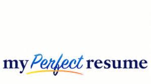 My Perfect Resume Resume Templates