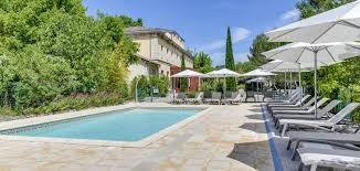 Boutique hotel south of france | The swimming pool area