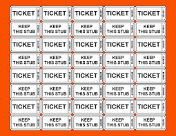 Printable Tickets With Numbers Major Magdalene Project Org