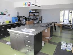 build stainless steel kitchen island with drawers