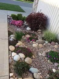 62 beautiful front yard rock garden