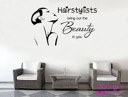 Beauty Parlour Quotes Best of Breath Fresh Hair Dressers Girls Beauty Wall Art Stickers Decals