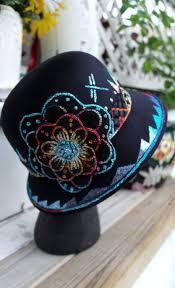 Native American Design Hats Pin On Cool Beadwork