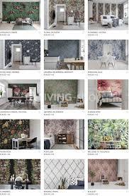 Bloemenbehang Op Maat Kopen Behang Met Bloemen Online At Living Shop