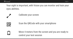 Smartphone Eye Chart Access Vision Vega9 Com Vision Check Your Sight Online