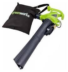 Электрическая <b>воздуходувка greenworks GBV2800</b> 2.8 кВт ...