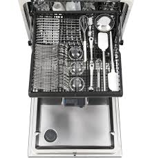 How To Clean The Inside Of A Stainless Steel Dishwasher Gear Stainless Steel Interior Dishwasher With Hidden Controls