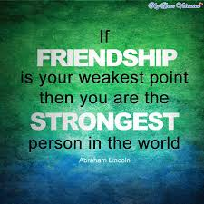 Quotes About Strong Friendship Adorable 48 Great And Strong Friendship Quotes