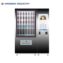 Salad Vending Machine For Sale Fascinating China Automatically Convenience Store Vending Kiosk For Sale Food