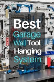 best garage wall tool hanging system to
