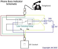 neolics electronics phone busy schematic note that one of the wires will need to be connected across the relay in the opposite direction to the other wire see the yellow wire above