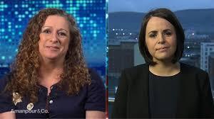 "Abigail Disney & Eimhear O'Neill on ""Women, War & Peace""   Video   Amanpour  & Company   PBS"