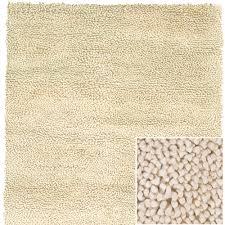 strata wool rug in cream