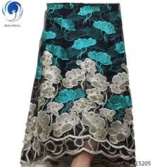 <b>Beautifical</b> Embroidery Net Mesh <b>French</b> Fabric African <b>French</b> ...