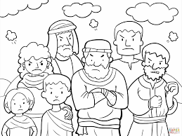 Small Picture Of Baby Moses Coloring Page Free Printable Pages Moses Baby Moses