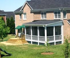 screened in patio cost. Cost Of Screened Porches Image Screen Porch In Deck Ideas Home As Wells . Patio S