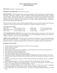 Er Nurse Job Description For Resume Emergency Room Nurse Job Description Resume Best Of New Grad Rn 1