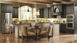 Dynasty Omega Kitchen Cabinets Casual Kitchen With Large Kitchen Island Omega