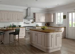kitchen curves painted taupe