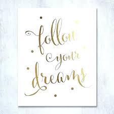 dream wall art letters