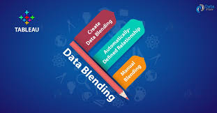 what is tableau data blending