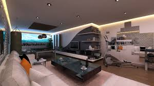 ... Interior Game Room Design Decoration Ideas Awesome Idea New ...
