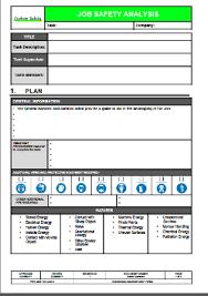 job safety analysis template job safety analysis examples barca fontanacountryinn com