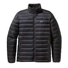 Patagonia Men's Down Sweater Jacket & M'S DOWN SWEATER, Black ... Adamdwight.com