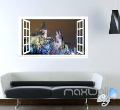 hogwarts wall decal together with harry potter window wall decals wall art stickers home decor kids gift lxp harry potter wall stickers uk nge
