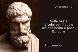 Aforismario: Massime, sentenze e frammenti di Epicuro