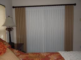 patio door window treatments 16 hanging curtains over sliding glass door blinds