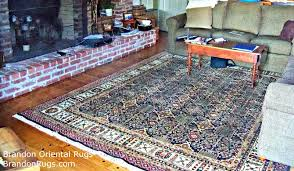 the rug they selected has a relaxed but elegant look that coordinates nicely with all of the colors in their room