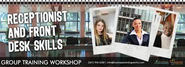 front desk and receptionist skills training course