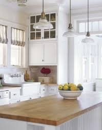 white country kitchen with butcher block. Simple Country I Love The Cottagecasual Look Of Butcherblock Countertops In Kitchen  And Every Magazine At Features Them They Donu0027t Seem Very Practical  And White Country Kitchen With Butcher Block H