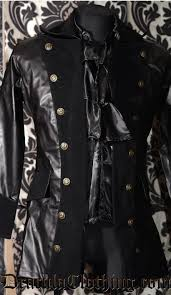 faux leather pirate coat jpg