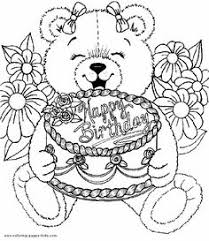 happy birthday coloring pages printable for s kids s in images collect more than 15 best birthday beautiful drawing black and white pages to