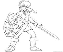 toon link coloring pages. Perfect Coloring Toon Link From Legend Of Zelda Wind Waker Coloring Page  Free With Coloring Pages T
