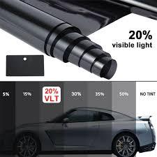 Car Window Tint Film Kit 35 Light Smoke Interior Accessories Flexzon Anti Scratch Professional Car