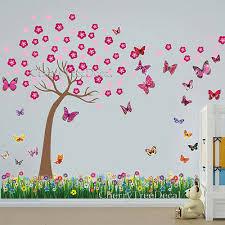 cherry blossom tree 3d erflies