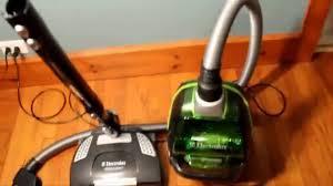 electrolux orange vacuum. electrolux ultraactive deepclean bagless canister vacuum el4300b review orange