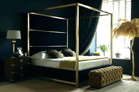 modern four poster bed king. Wonderful Four Superb Modern 4 Poster Bed Beds Fourposter Canopy Image  Of Metal Four King With E