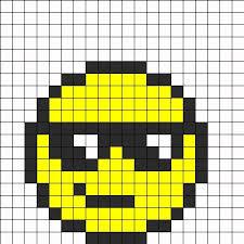 Emoji Perler Bead Patterns Amazing 48 Images Of Easy Emoji Pixel Art Template Leseriail