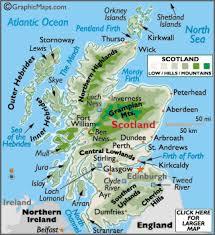 map of scotland printable. Simple Scotland Map Of Scotland United Kingdom Inside Scotland Printable S
