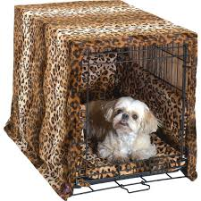 crate cover and bedding set designer style leopard