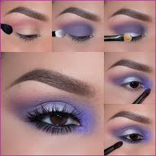 tutorials on how to do cal makeup using motives eyes shadow kit palette diy