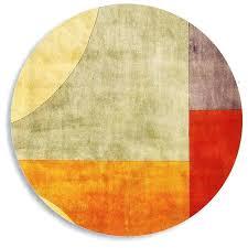 modern round rug area rugs round contemporary modern red orange pertaining to designs 0 large modern modern round rug